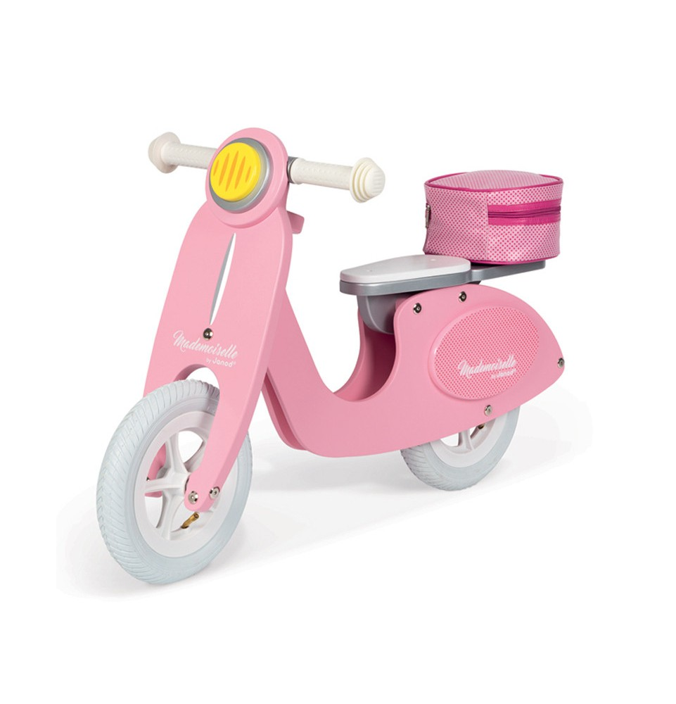 Draisienne Janod Mademoiselle Scooter Rose