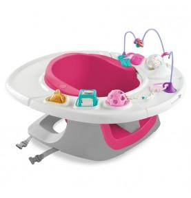 Siège évolutif jeux et repas 4 en 1 Summer Infant Super seat Pink