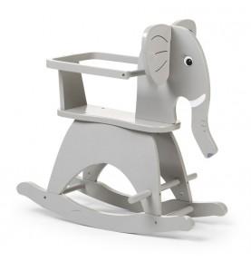 Éléphant à Bascules Gris Childhome