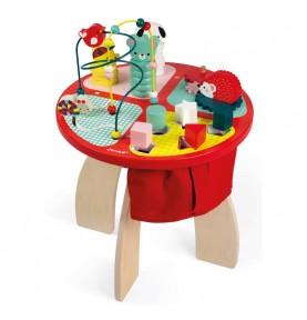 Table d'activités Baby Forest de Janod