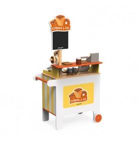Stand Mobile ''Crêpes & Co'' en bois de Janod