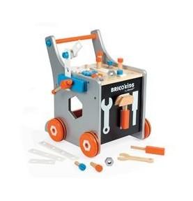 Chariot magnétique Brico'Kids en bois JANOD