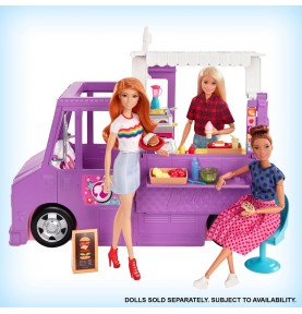 Food Truck Barbie de Mattel