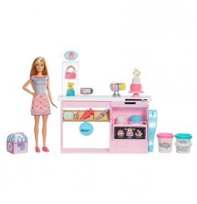 Barbie et sa patisserie de Mattel