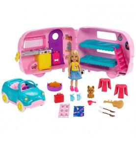 Barbie Chelsea et sa caravane