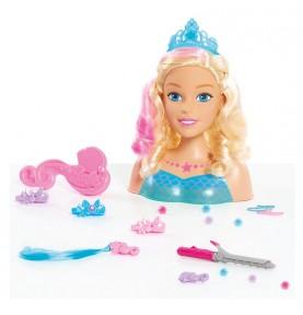 Tête à coiffer Barbie Sirène Dreamtopia