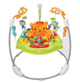 Jumperoo Jungle Sons et Lumières Fisher Price