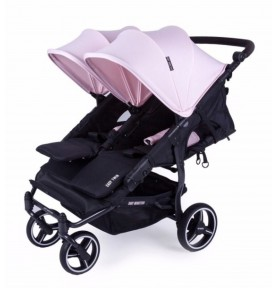 Poussette double Easy Twin 3.0.S Non reversible - Cupcake