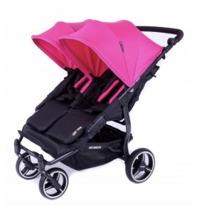 Poussette double Easy Twin 3.0.S Reversible - FUCHSIA