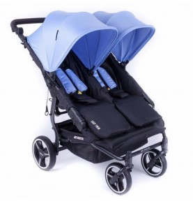 Poussette double Easy Twin 3.0.S Reversible - MEDITERRANEE