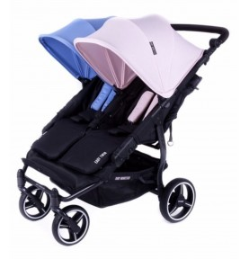 Poussette double Easy Twin 3.0.S Reversible - BLEU ET ROSE
