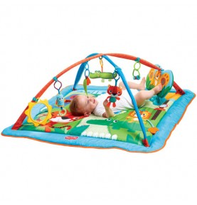 Tapis d'éveil Gymini Kick & Play City Safari Tiny Love