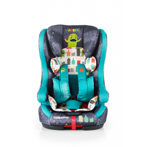 Siège auto évolutif Cosatto ISOFIX Hubbub Monster Arcade (5 Points Plus)