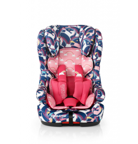 Siège auto évolutif Cosatto ISOFIX Hubbub Magic Unicorns (5 Points Plus)