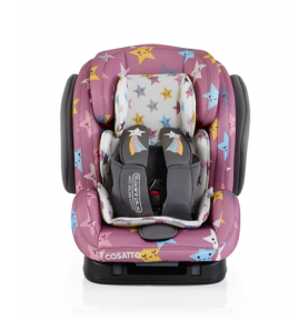 Siège auto 123 ISOFIX Cosatto Hug Happy Stars (5 Points Plus)