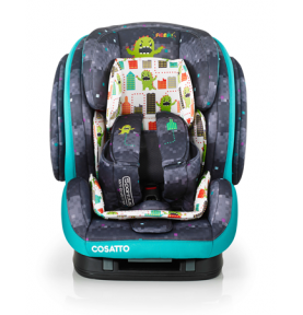 Siège auto 123 ISOFIX Cosatto Hug Monster Arcade (5 Points Plus)