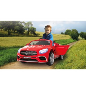 Voiture Electrique Ride-on Mercedes SL65 rouge 12V