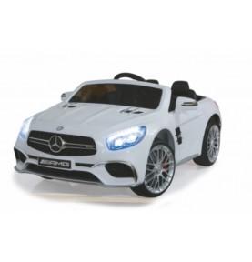 Voiture Electrique Ride-on Mercedes SL65 blanche 12V