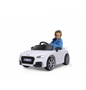 Voiture Electrique Ride-on Audi TT RS blanc 12V