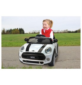 Voiture Electrique Ride-on Mini blanche 12V