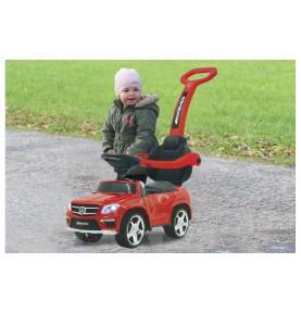 Porteur Voiture Mercedes GL63AMG rouge avec canne parentale