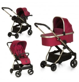Poussette Icoo Trio Acrobat XL Diamond Ruby