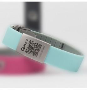 Bracelet Geolocalisable sans ondes - Noir