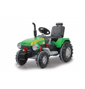 Tracteur Electrique Ride-on Tractor Power Drag 12V