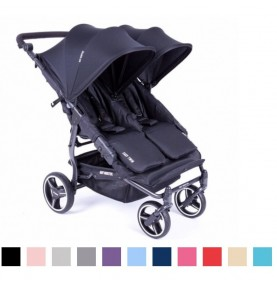 13 coloris - Reversible - Poussette double Easy Twin 3S