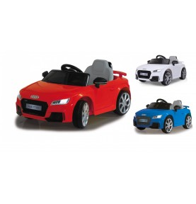 Voiture Electrique Ride-on Audi TT RS rouge 12V