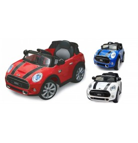 Voiture Electrique Ride-on Mini rouge 12V