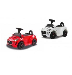 Porteur Voiture Electrique Jaguar Rouge ou blanc