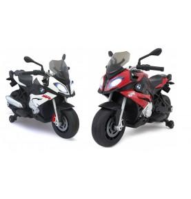 Moto pour enfant BMW S1000XR rouge ou blanche 6V