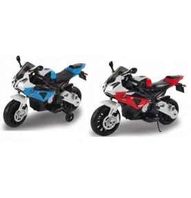 Moto pour enfant BMW S1000RR rouge ou bleue 12V