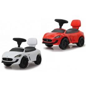 Porteur Voiture Maserati Gran Cabrio blanc ou rouge