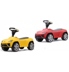 Porteur Voiture Lamborghini Urus rouge ou jaune