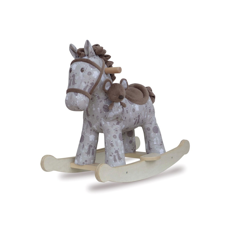 le cheval bascule biscuit skip le shopping de zo. Black Bedroom Furniture Sets. Home Design Ideas