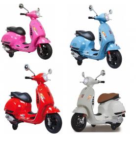 Scooter Vespa pour enfant 4 coloris