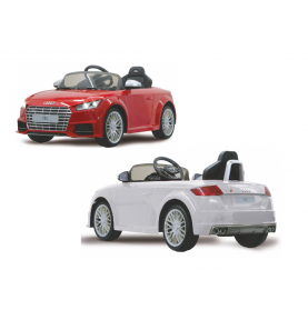 Voiture Electrique Ride-on Audi TTS Roadster Blanc ou Rouge 4GHz